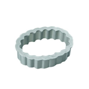Emporte-pièce forme oval cannelé